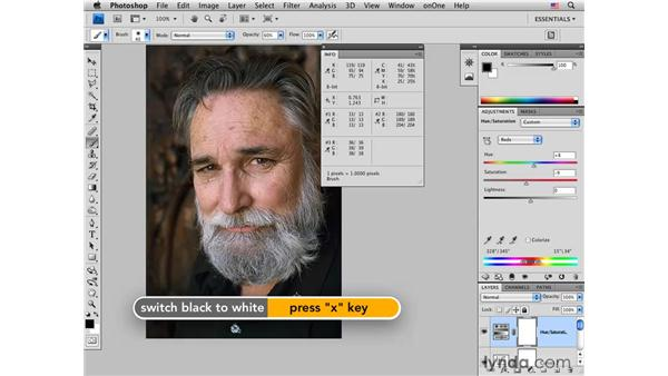 Correcting color pt. 4: Adding finishing touches : Photoshop CS4 for Photographers: Desktop Printing Techniques