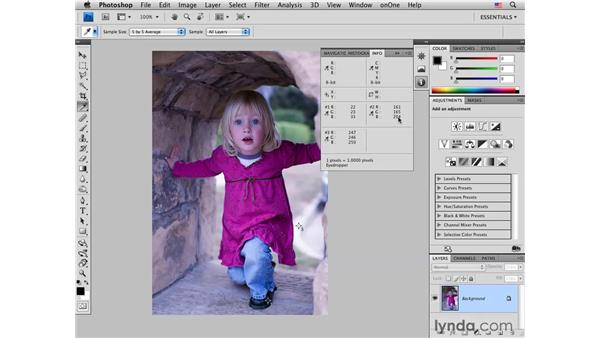 Color-correcting an outdoor portrait with curves: Photoshop CS4 for Photographers: Desktop Printing Techniques