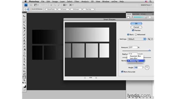 Introducing Smart Sharpen: Photoshop CS4 for Photographers: Desktop Printing Techniques