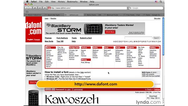 Typography resources sites: Photoshop CS4 for Photographers: Desktop Printing Techniques