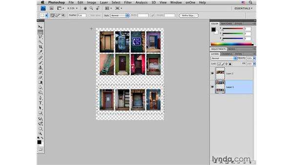 Creating a layout pt. 2: Customizing a PDF layout in Photoshop: Photoshop CS4 for Photographers: Desktop Printing Techniques