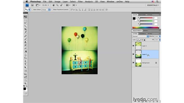 Creating a three-image layout in Photoshop: Photoshop CS4 for Photographers: Desktop Printing Techniques