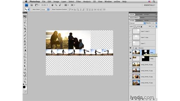 Multiple-image layout pt. 2: Masking and resizing photos: Photoshop CS4 for Photographers: Desktop Printing Techniques