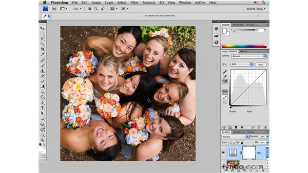 Setting the white and black points: Photoshop CS4 for Photographers: Desktop Printing Techniques