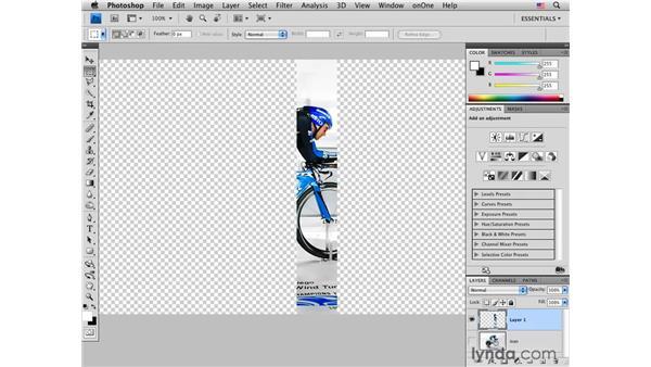 Setting up a test strip print: Photoshop CS4 for Photographers: Desktop Printing Techniques