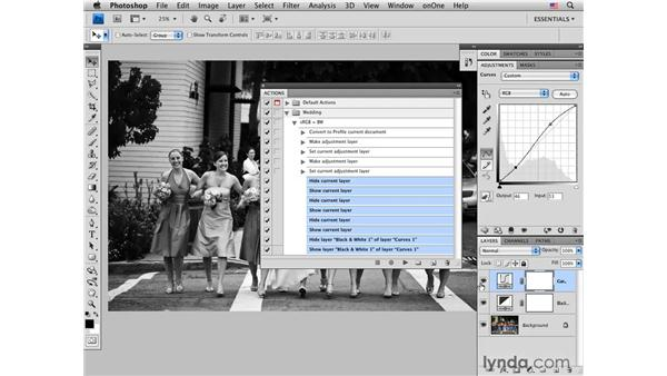Batch-processing with actions: Photoshop CS4 for Photographers: Desktop Printing Techniques