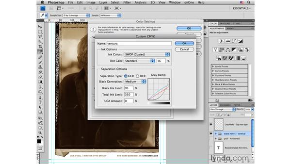 Converting to CMYK: Photoshop CS4 for Photographers: Desktop Printing Techniques