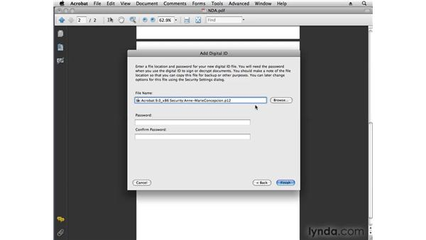 Creating simple secure signatures: Acrobat 9 Pro Tips and Tricks