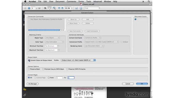Converting a PDF to grayscale: Acrobat 9 Pro Tips and Tricks