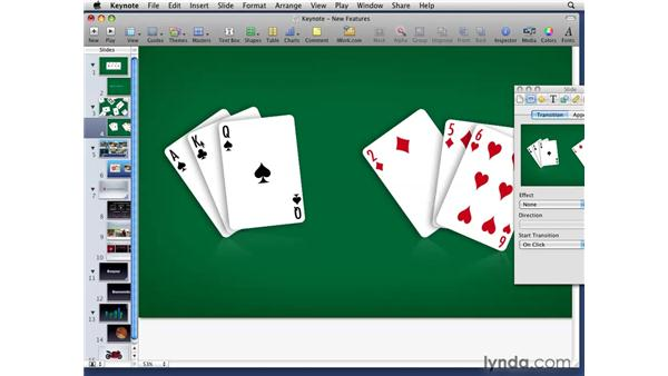 Using Magic Move: iWork '09 New Features