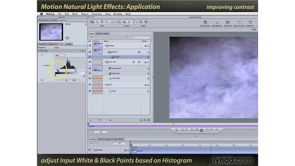Application: Motion: Natural Light Effects