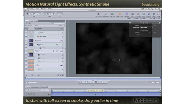 Synthetic Smoke: Motion: Natural Light Effects