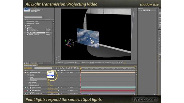 Projecting Video: After Effects: Light Transmission