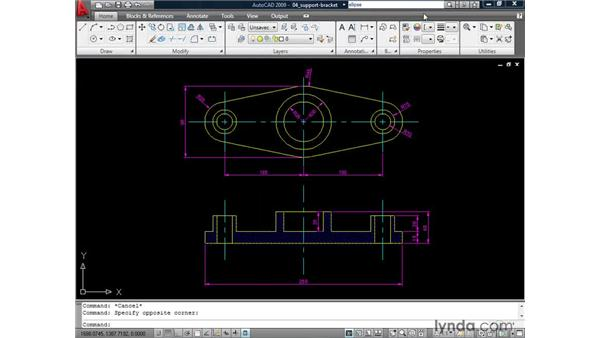 Finding answers with InfoCenter : AutoCAD 2009: 2D Drafting Techniques