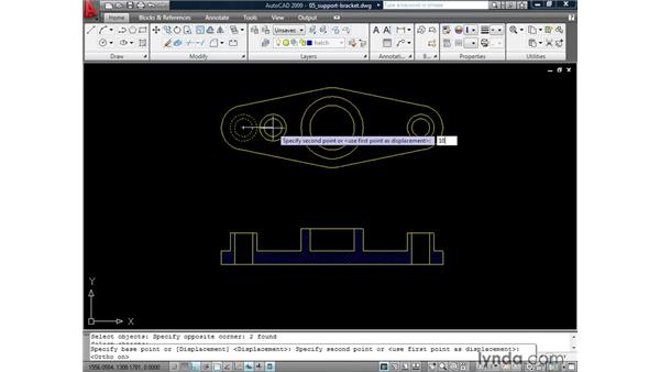 Using Noun/Verb methodology: AutoCAD 2009: 2D Drafting Techniques