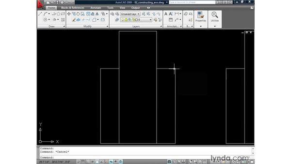 Creating arcs: AutoCAD 2009: 2D Drafting Techniques