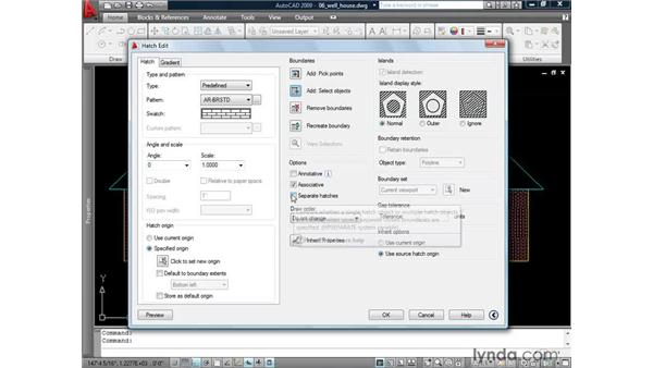 Modifying existing hatches: AutoCAD 2009: 2D Drafting Techniques