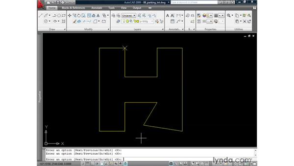 Adding and removing vertices from polylines: AutoCAD 2009: 2D Drafting Techniques