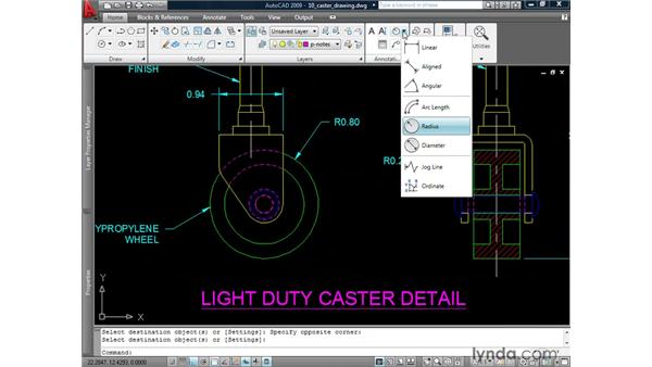 Matching properties: AutoCAD 2009: 2D Drafting Techniques
