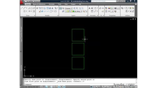 "Understanding the object ""snap from"": AutoCAD 2009: 2D Drafting Techniques"