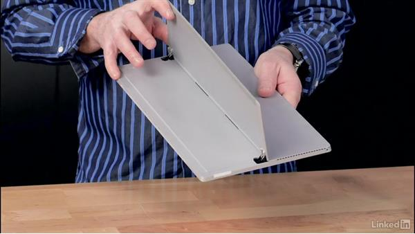 Tour of the device: Learn Microsoft Surface: The Basics