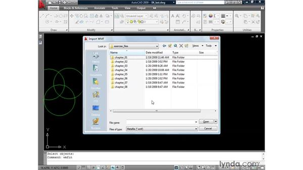 Selecting the last entity created: AutoCAD 2009: 2D Drafting Techniques