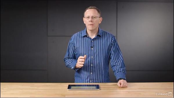 The handwriting panel: Learn Microsoft Surface: The Basics