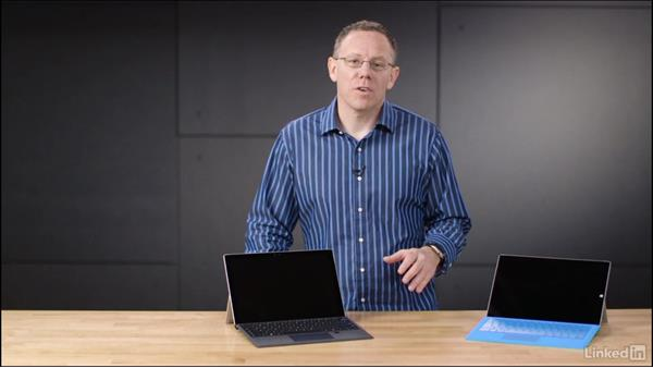 The Surface type cover: Learn Microsoft Surface: The Basics