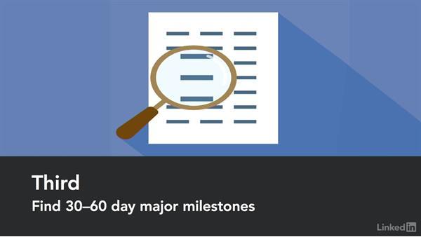 Determine milestones: Manage Your Organization's Big Data Program