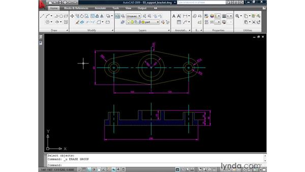 Locking layers: AutoCAD 2009: 2D Drafting Techniques