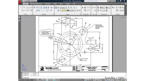 Preventing layers from plotting: AutoCAD 2009: 2D Drafting Techniques