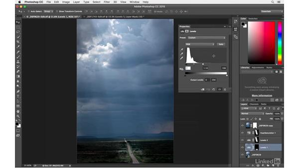 Localized image editing: Introduction to Photography: Lightroom and Photoshop