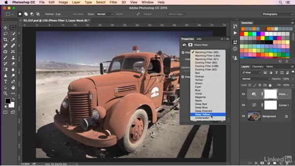 Altering a photo's hues: Color for Design and Art