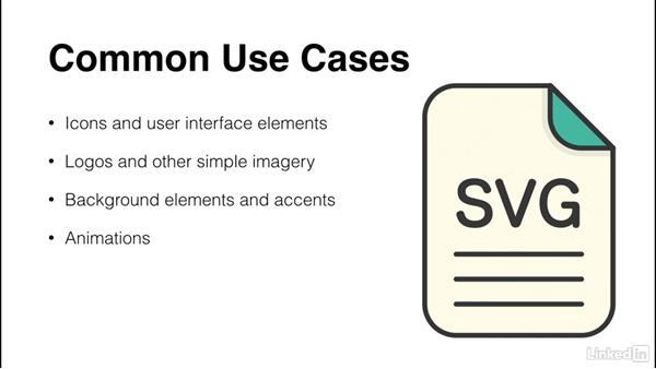 Common use cases for SVGs: Illustrator CC for Web Design: SVG