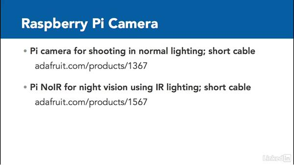 Select a Raspberry Pi camera: Home Monitoring and Control with Raspberry Pi