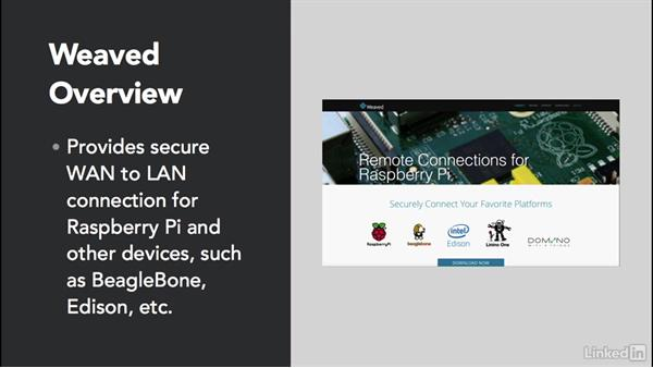 Overview of remote access with Weaved: Home Monitoring and Control with Raspberry Pi