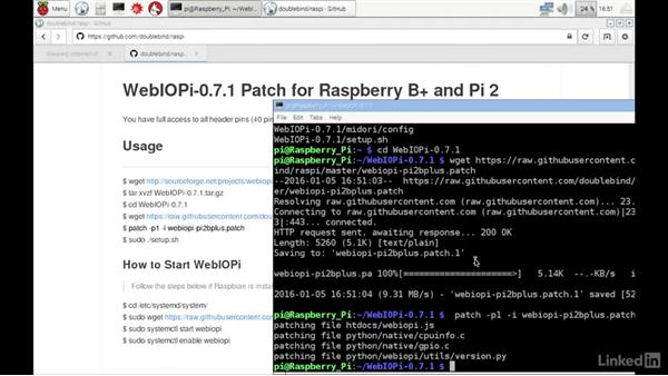 Patch WebIOPi for Raspberry Pi B+ and 2