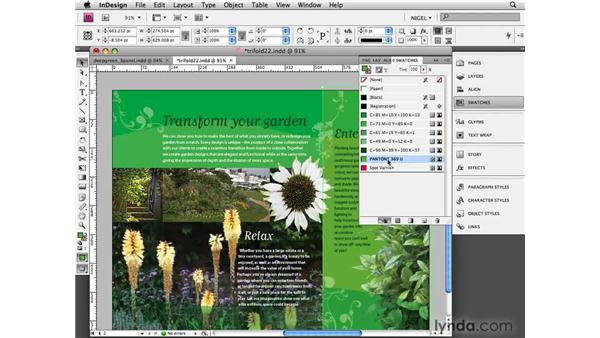 Making a PDF: Designing a Brochure (2009)