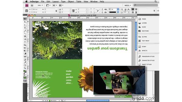 Exploring pocket brochures: Designing a Brochure (2009)