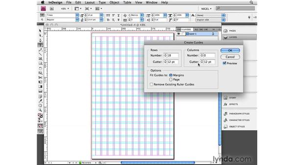 Making a poster template: Designing a Poster