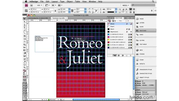 Woodcut rose: Designing a Poster