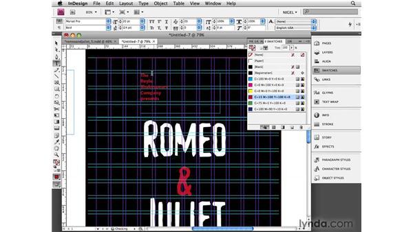 Split heart: Designing a Poster
