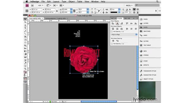 Red rose: Designing a Poster