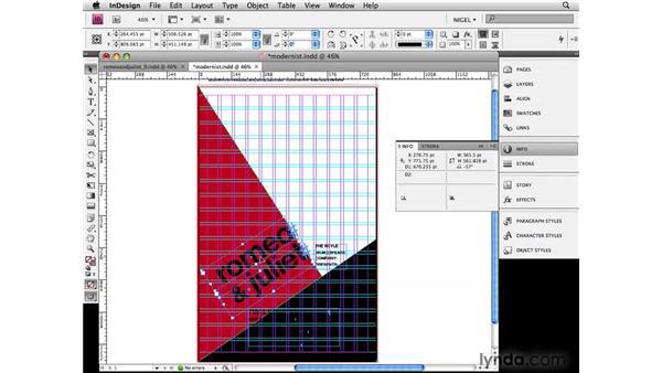 Modernist: Designing a Poster