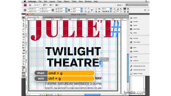 All type: Designing a Poster