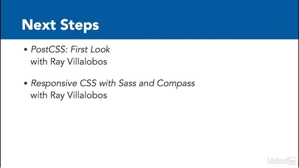 Next steps: CSS to Sass: Converting an Existing Site