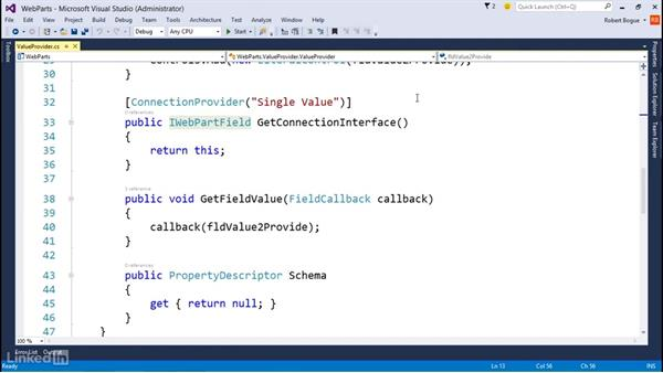 Connecting Web Parts: Developing SharePoint Full Trust Solutions for SharePoint 2013