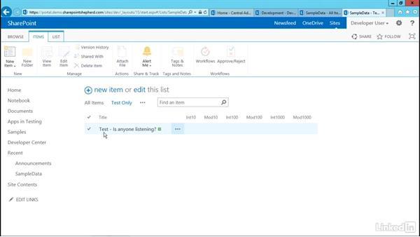 Updating SharePoint data: Developing SharePoint Full Trust Solutions for SharePoint 2013