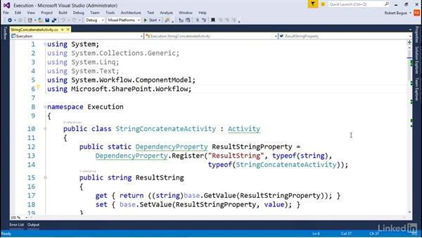 Understanding workflow: Developing SharePoint Full Trust Solutions for SharePoint 2013