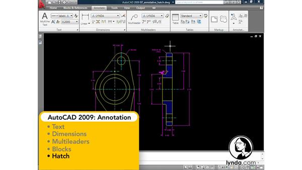 Welcome: AutoCAD 2009: Annotation